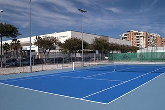Inacua Málaga | Pistas de tenis y pádel