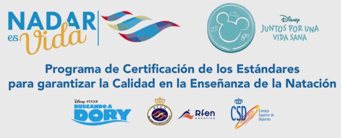 Programa de Certificación de los estándares para garantizar la Calidad en la Enseñanza de la Natación