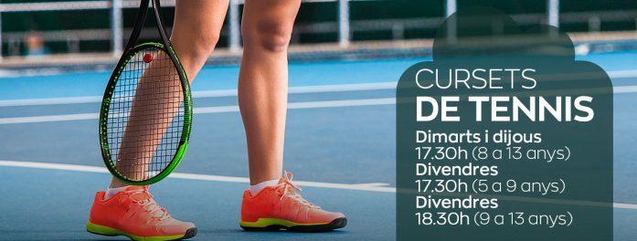 Cursos de tenis infantil