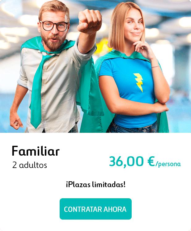 Tarifa Duo Inacua 36,00€ por persona