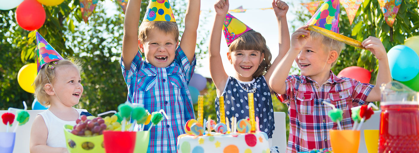 Celebración de cumpleaños infantiles