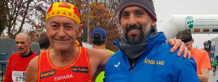 Enrique, un maratoniano de 75 años