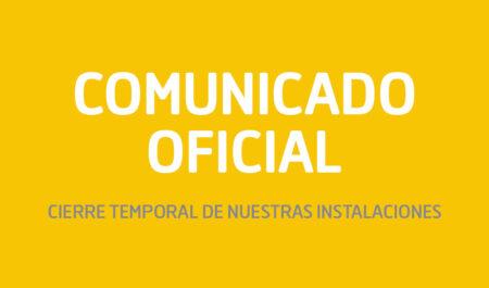 post - Comunicado Oficial COVID19
