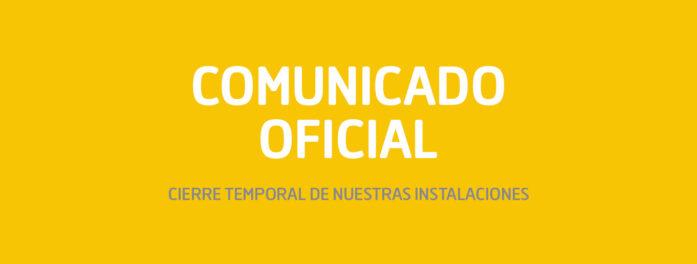 Comunicado Oficial COVID19