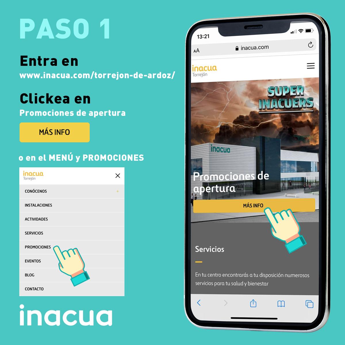 Darme de alta online en Inacua Torrejón