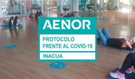 post - Los centros deportivos Inacua, certificados por AENOR frente al COVID-19